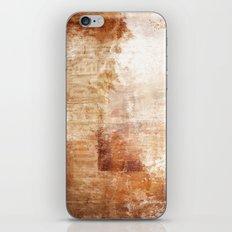 Mémoire rouillée iPhone & iPod Skin