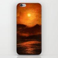 sunset iPhone & iPod Skins featuring Sunset by Viviana Gonzalez
