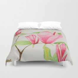 Magnificent Magnolia Duvet Cover