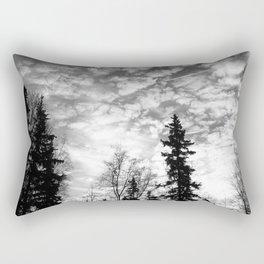 Blackened Sunrise Rectangular Pillow