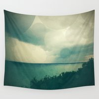storm Wall Tapestries featuring Storm by Olivia Joy StClaire