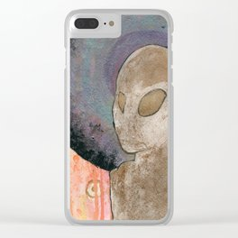 Alien Halo 1 Clear iPhone Case