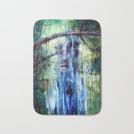 The Forest in His Mind Bath Mat