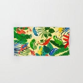 Nine Chameleons Hiding in the Tropics Hand & Bath Towel