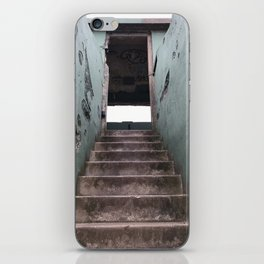 Staircase at Battery Mendell on Fort Barry iPhone Skin