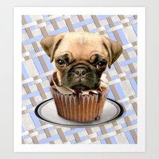 pupcake Art Print