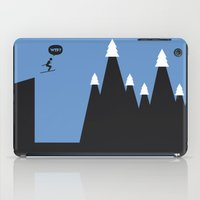 ski iPad Cases featuring WTF? Ski by Estudio Minga | www.estudiominga.com