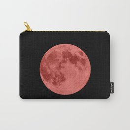 MOON GLOW RED Carry-All Pouch