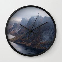 Kirkefjord, Lofoten Wall Clock