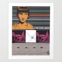 Collage #10 (Top Secret Special) Art Print