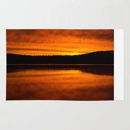 Golden Sunrise I Rug