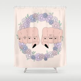 Girl Power 2018 Shower Curtain