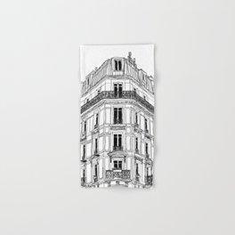 Parisian Facade Hand & Bath Towel