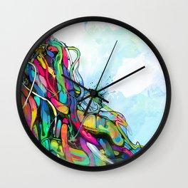 1/2 Wall Clock