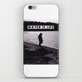 #WATERISLIFE fig. 1 iPhone Skin