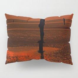 Four Gormley Iron Men Pillow Sham