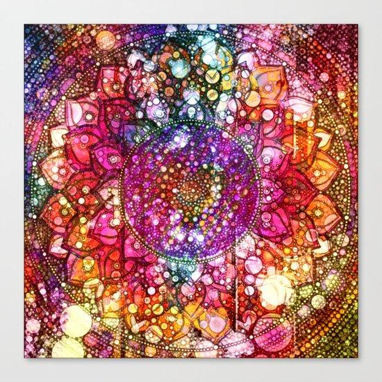 Distressed Mandala  Canvas Print