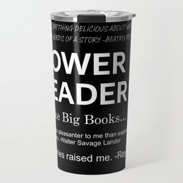 Power Reader Travel Mug
