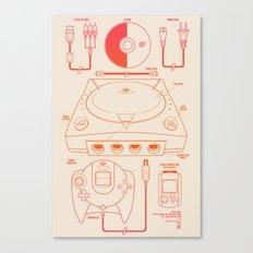 Dream Machine Canvas Print