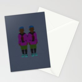 ☹ Bionic Twins ☹ Stationery Cards