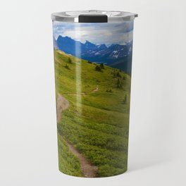 Views Along the Wilcox Pass Trail in Jasper National Park, Canada Travel Mug