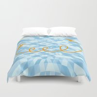 arrow Duvet Covers featuring Arrow by Mr & Mrs Quirynen