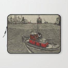 Morgan Tugboat, Hudson river, New York Laptop Sleeve