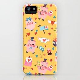 Piggies Love Love iPhone Case