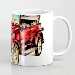 Vintage automobile retro fineart Coffee Mug