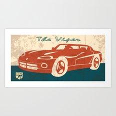 The Viper Art Print
