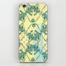 Wolf Print iPhone & iPod Skin