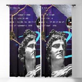 Ancient Gods and Planets: NASA Apollo program [synthwave/vaporwave/retrowave/cyberpunk] Blackout Curtain