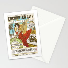 The Enchanted City Poster 2018 Stationery Cards