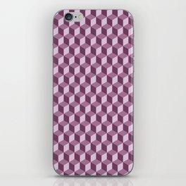 Geometric Lilac iPhone Skin