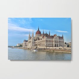 One of the Most Beautiful Buildings in the World Metal Print
