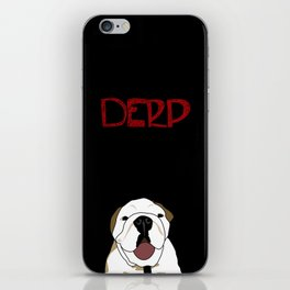 Derp iPhone Skin