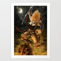Beware the Amazon Art Print