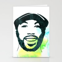 randy c Stationery Cards featuring C' by bpmm