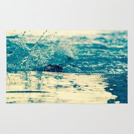 Water in Motion Rug