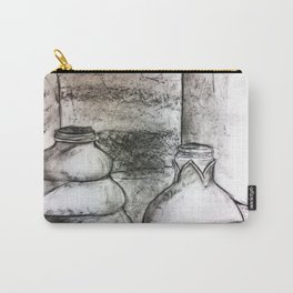 Still Life: Bottles Carry-All Pouch