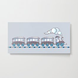 Toy Train Metal Print