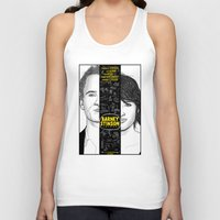 himym Tank Tops featuring Barney Stinson Playbook (Silver Linings Playbook + HIMYM) by HuckBlade