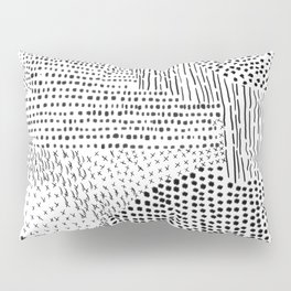 Brush Strokes Pillow Sham