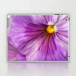 Purple Pansy Flower Close-up #decor #society6 #buyart Laptop & iPad Skin