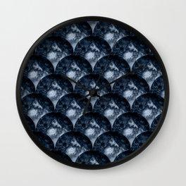 Salty Circles Wall Clock