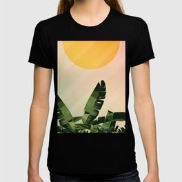 Sunny heliconia T-shirt