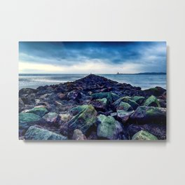 Road to the Sea Metal Print