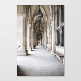 Vienna City Hall Canvas Print