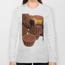 Mini Chocolate and Peanut Butter Treats Long Sleeve T-shirt