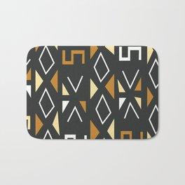 African Tribal Pattern No. 12 Bath Mat